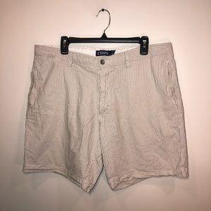Chaps Striped Shorts